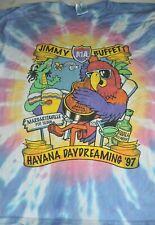 Jimmy Buffet t shirt Xl Tie Dye vintage 1999 tour Havana Daydreaming Tour