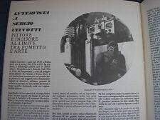 DIABOLIK SERGIO CECCOTTI PITTURE INTERVISTA COMICS 1976