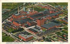 1940 Lancaster Pennsylvania Armstrong Linoleum Plant birdseye Teich 12671