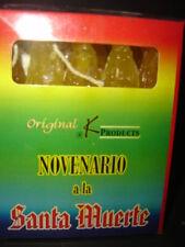 NOVENARIO DORADO (amarillo) A LA SANTA MUERTE candles yellow velas
