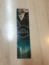 Signed Book Marker Kerri Maniscalco Stalking Jack The Ripper Free Shipping