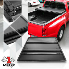 Short Bed Tonneau Cover 5.5Ft Soft Top Tri-Fold Fleetside for 04-14 Ford F150
