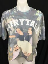 DISNEY Snow White Printed Short Sleeve Slogan Fairytale Slouch Top Size 10