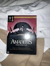 New ListingAmadeus - 2 Disc Special Edition Director's Cut Dvd - Abraham, Hulce, Berridge