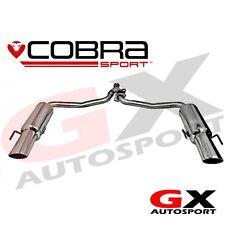 ME12 Cobra Mercedes C Class W204 C220 Diesel 07-13 C350 Style Dual Rear Exhaust