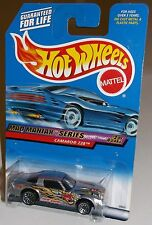 Hot Wheels 2000 #018 Mad Maniax Series #2 of 4 Camaro Z28 Silver Fire Eater WSPs