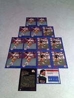 *****Dan Bass****  Lot of 23 cards.....3 DIFFERENT / Football / CFL
