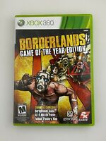 Borderlands Game of the Year Edition - Xbox 360 Game - Complete & Tested