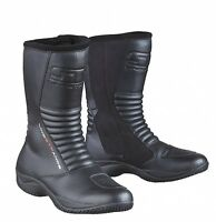 Lindstrands Brick Touring Motorbike Boots Black Various Sizes RRP £139.00