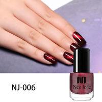 NEE JOLIE 3.5ml Magnetic Nail Polish Glitter Color Changing Nail Art