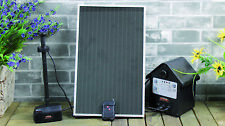 Mauk Solar Teichpumpe 2,4W  mit Akku und LED Gartenteich Wasserspiel Teich