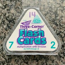 TREND Three Corner Flash Cards Multiplication and Division All Facts Through 12