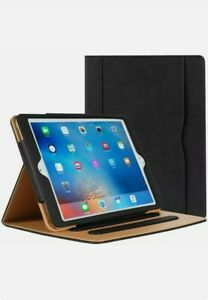 Leather Tan Magnetic Smart Flip Case For iPad Air 2/3/4 9.7 10.2 10.9 Pro 10.5