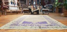 """Exquisite Antique Cr1940-1950's Wool Pile, Muted Dye Oushak Rug  3'9""""×6'"""