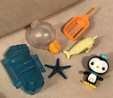 Fisher Price - Octonauts Action Figure Rescue Set - Peso & the Narwhal Playset