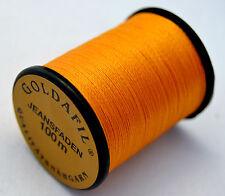 Nähgarn für Jeans 100 m hochreissfest ocker/orange
