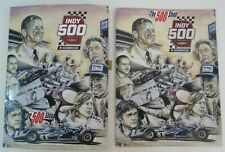 2020 A.j. Foyt Signed Indianapolis Indy 500 Car Event Program 104th Running AJ