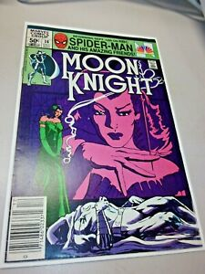 Moon Knight #14 1st Appearance Stained Glass Scarlet Marvel Comics 1981