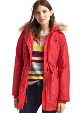 GAP WOMENS WARMEST WINTER HOODED DOWN PUFFER PARKA COAT $198.00 NEW XS S M L XXL