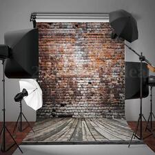 UK 5X7FT Retro Realistic Brick Wall Background Photo Photography Backdrop Prop