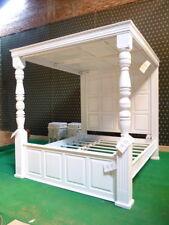 Bespoke Tudor manoir Style Chatelet ® Four Poster Acajou Bois Four Poster Bed