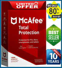 McAfee Total Protection 2020  🔥 1 Device 10 Years Antivirus🔥 Înstant Dεlivery