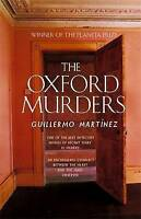The Oxford Murders, Guillermo Martinez   Paperback Book   Good   9780349117232