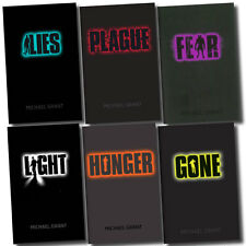Gone Series Michael Grant 6 Books Set Plague, Lies, Hunger Pack, Fear, Light
