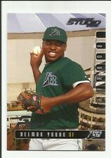 Delmon Young 2003 Studio Proof RC #211 #080/100  Rookie   BV $30