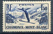 FRANCE TIMBRE  N° 334 ** SKI CHAMONIX