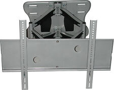 420W SILVER FLAT PANEL TV/MONITOR WALL MOUNT SWIVEL & TILT - NEW