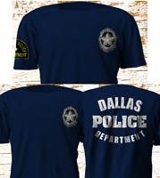 New Dallas Police Department SWAT Military Texas Navy T-Shirt S-4XL