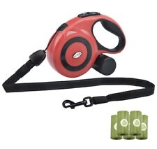 New listing Retractable Dog Leash Heavy Duty Walking Leash for Medium Large Dogs up to 77lbs