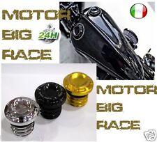 Tappo Moto UNIVERSALE Serbatoio benzina Rough Crafts pe HARLEY DAVIDSON ORO M176