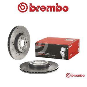 Kit dischi forati e pastiglie Brembo X-tra Line Golf VI