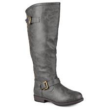 Women's Journee Collection Spokane Boot Wide Calf Grey Size 7 #NLSHC-M491