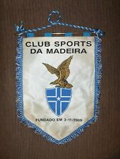 BIG SIZE 1980's MADEIRA VOLLEYBALL OFFICIAL GAME Pennant Streamer Flag PORTUGAL
