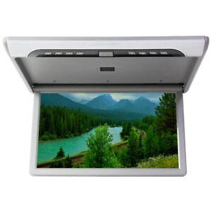 "19"" 1080P Car Roof Monitor Screen Flip Down Mount MP5 USB SD HDMI FM Transmitter"