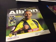 Burton Albion v AFC Wimbledon 2011-12 First Season in League