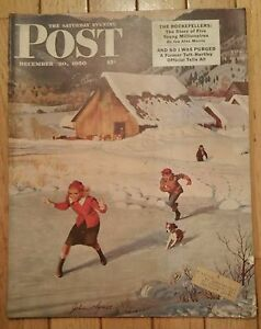 THE SATURDAY EVENING POST DECEMBER 30 1950 ROCKEFELLERS YOUNG MILLIONAIRES TAFT