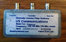 Diversity Disguised Antenna RF Combiner Dual VHF Transmit Receive 140-180 MHz