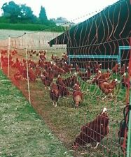 POULTRY NET 50m ELECTRIC FENCE Netting (FREE POSTAGE) Chooks CHICKENS Hens DUCKS