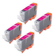 4 MAGENTA Printer Ink for Series Canon CLI-8 CLI-8M MP530 iP4300 IP4500 MP500