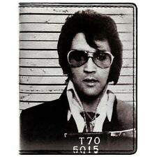 NEW OFFICIAL ELVIS PRESLEY KING OF ROCK & ROLL MUG SHOT ID & CARD BI-FOLD WALLET