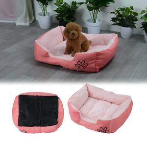 Washable Pet Dog Cat Bed mat Puppy Cushion Soft Warm House Kennel Mat Blanket UK