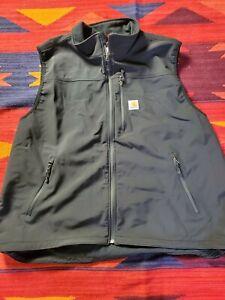 Carhartt Men's jacket Vest Black Sz 3XL