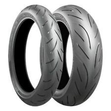 Motorcycle Tyres Bridgestone S21 120/70/ZR17 & 190/50/ZR17 Pair Deal Motorbike
