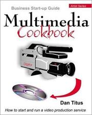 """""""Multimedia Cookbook"""" Business Start-Up Guide Book-Brand New On Sale-Instruction"""