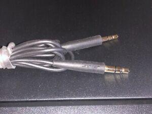 GENUINE BOSE-QuietComfort QC25 QC35 headphones cable – Black 2.5mm to 3.5mm