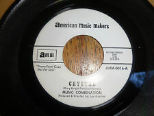 MUSIC COMBINATION-CRYSTAL/HOLDING ON FOR DEAR LOVE-AMERICAN MUSIC MAKERS WLP 45
